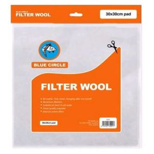 I251838-Blue Circle Filter Wool Pad
