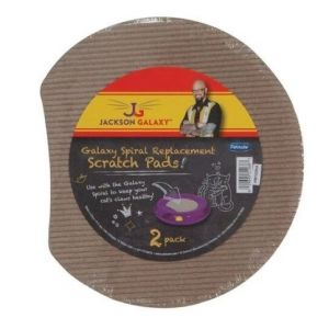 I177489-Jackson Galaxy Spiral Replacement Scratch Pads 2 Pk