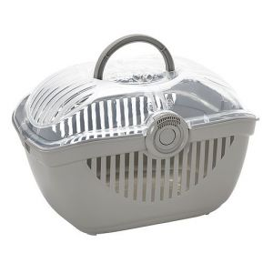 I238320-Top Runner Small Pet Carrier Large Grey