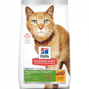 I250609-Hill's Science Diet Youthful Vitality Senior Cat Food 2.72kg