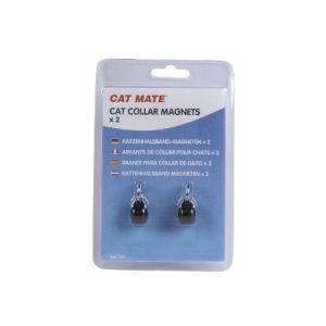 I132833-Cat Mate Magnetic Collar Keys 2 Pack