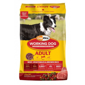I250405-Coprice Working Dog Beef Adult Dog Food 20kg