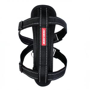 I249069-Ezydog Harness With Black Chest Plate For Medium Dogs