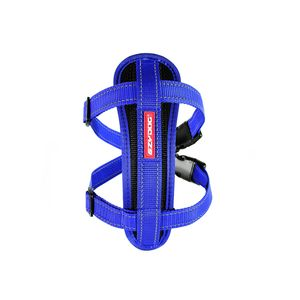 I249075-Ezydog Harness With Blue Chest Plate For Large Dogs