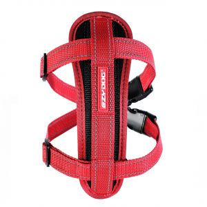 I249071-Ezydog Harness With Red Chest Plate For Medium Dogs