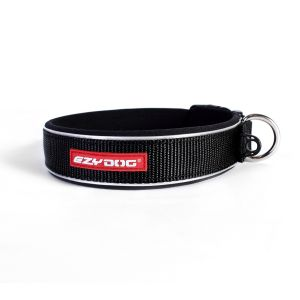 I249052-Ezydog Neoprene Dog Collar Xlarge Black
