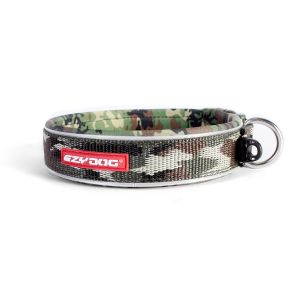 I249046-Ezydog Neoprene Dog Collar Medium Camouflage