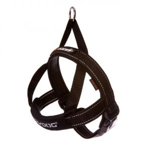 I249092-Ezydog Quick-fit Harness Black Medium