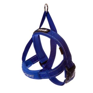 I249089-Ezydog Quick-fit Harness Blue Small