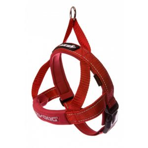 I249094-Ezydog Quick-fit Harness Red Medium