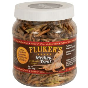 I141338-Flukers Medley Treat Bearded Dragon 52g