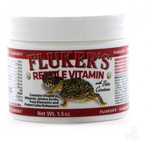 I132165-Fluker Repta-vitamin Powder 42g