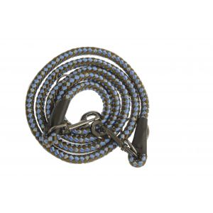 I248494-Yours Droolly Blue Maxi Rope Lead 200cm