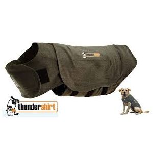 I249017-Thundershirt Grey Dog Calming Polo Large