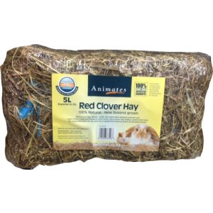 I247963-Animates Compressed Red Clover Hay Bale 5l