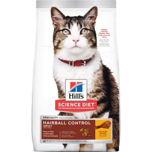 I247698-Hills Science Diet Hairball Control Adult Cat Food 4kg