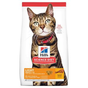 I247699-Hills Science Diet Light Adult Cat Food 2kg