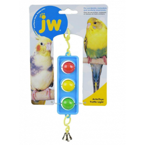 I142089-Jw Insight Traffic Light Bird Toy