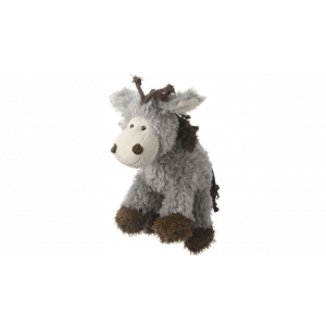 I147205-Multipet Mane Events Donkey Dog Toy