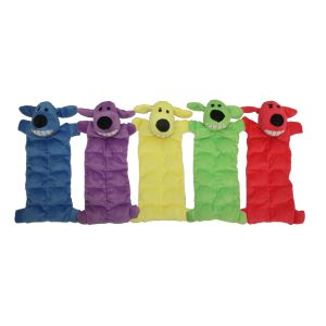I151941-Loofa Squeaky Mat Dog Toy 30cm