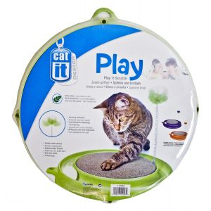 I239098-Catit Play-n-scratch Green Cat Toy