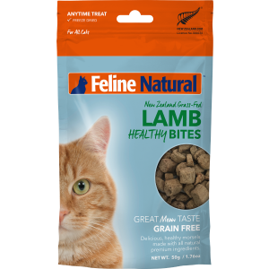 I241417-Feline Natural Lamb Healthy Bites 50g