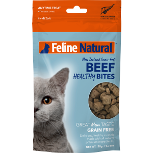 I241418-Feline Natural Beef Healthy Bites 50g