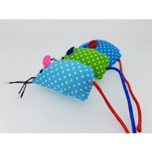 I241948-Mix And Match - Spotty Mouse Cat Toy