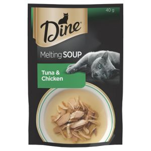 I247312-Dine Melting Soup Tuna And Chicken 40g