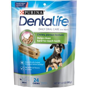 I247649-Dentalife 24 Pack Mini Size Dog Treats