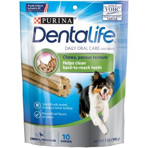 I247652-Dentalife 10 Pack Small To Medium Size Dog Treats