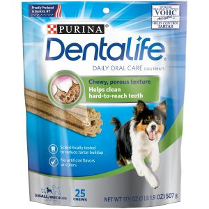 I247663-Dentalife Dog Treats Small/med 25 Pk