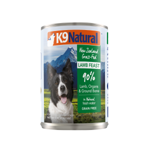 I248604-K9 Natural Lamb Canned Dog Food 370g