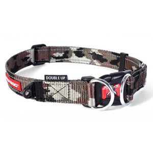 I251630-Ezydog Collar Double Up Camo Large