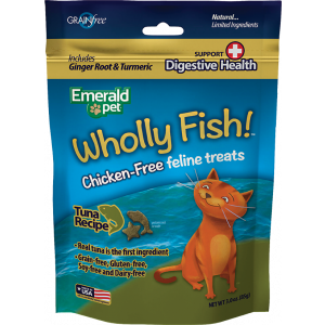 I251891-Emerald Feline Wholly Fish Treat Tuna And Digestive Health Cat Treat