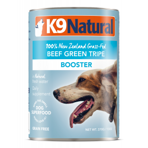 I248622-K9 Natural Beef Green Tripe Canned Dog Food 370g