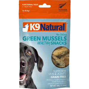 I241983-K9 Natural Freeze Dried Green Lipped Mussel Dog Treats 50g