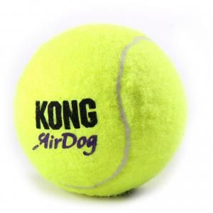 I248177-Kong Air Squeaker Tennis Ball Dog Toy Medium