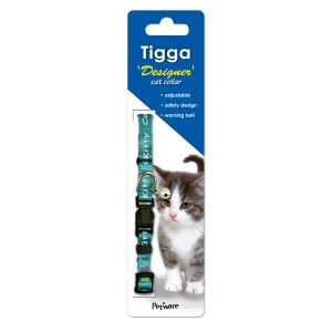 I146149-Tigga Kitten Collar Kitty Light Blue
