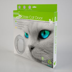 I143622-Petcorp Clear Slider Cat & Small Dog Door