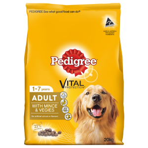 I247254-Pedigree Real Beef & Vegies Dog Food 20kg