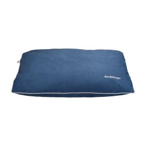 I254061-Red Dingo Marine Blue Pillow Dog Bed Small