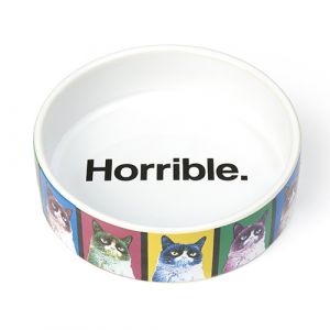 I253629-Grumpy Cat Pop Art Horrible Bowl