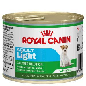 I248027-Royal Canin Mini Light Adult Dog Food 195g