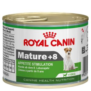 I155543-Royal Canin Mini Mature +8 Dog Food 195g