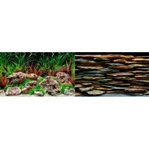 I240964-Seaview Background Aquawild/slateways 45x90cm
