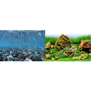 I240970-Seaview Background River Rock/sea Of Green 45x90cm