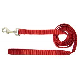 I249010-Hamilton Lead 15mm Red 120cm