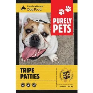 I143416-Purely Pets Frozen Tripe Patties Dog Food.