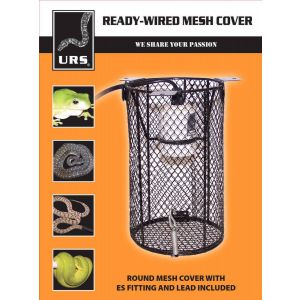 I237082-Urs Safety Cage With Ceramic E27 Fitting